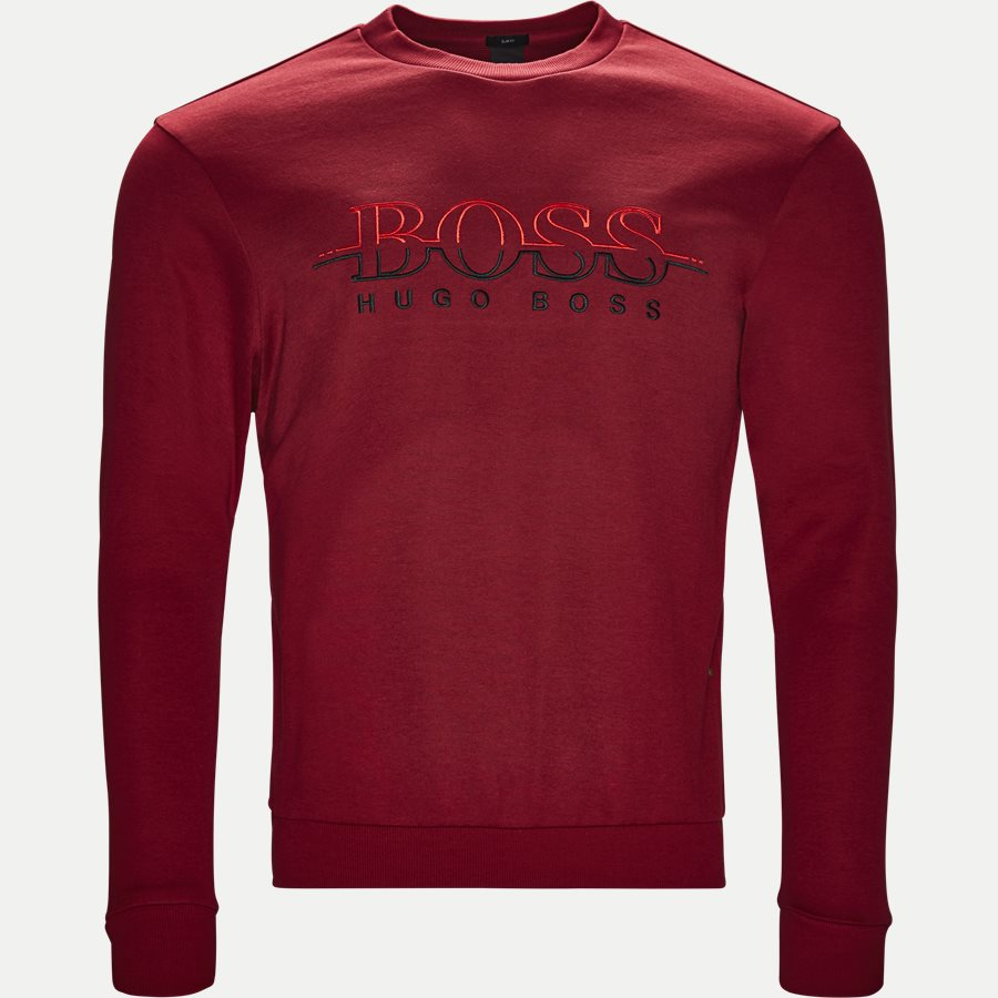 50387162 SALBO - Salbon Sweatshirt - Sweatshirts - Slim - RØD - 1