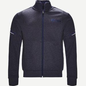 Skaz Zip Sweatshirt Regular | Skaz Zip Sweatshirt | Denim