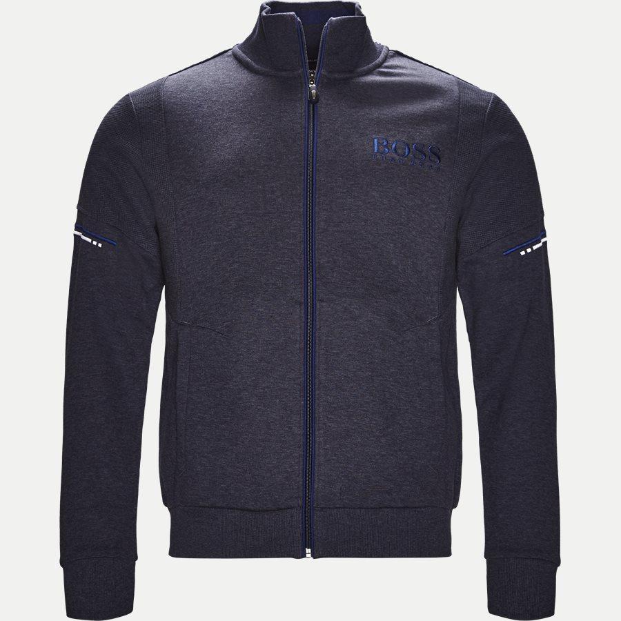50387136 SKAZ - Skaz Zip Sweatshirt - Sweatshirts - Regular - DENIM - 1
