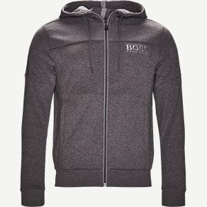 Saggy Hoodie Zip Sweatshirt Regular | Saggy Hoodie Zip Sweatshirt | Grå