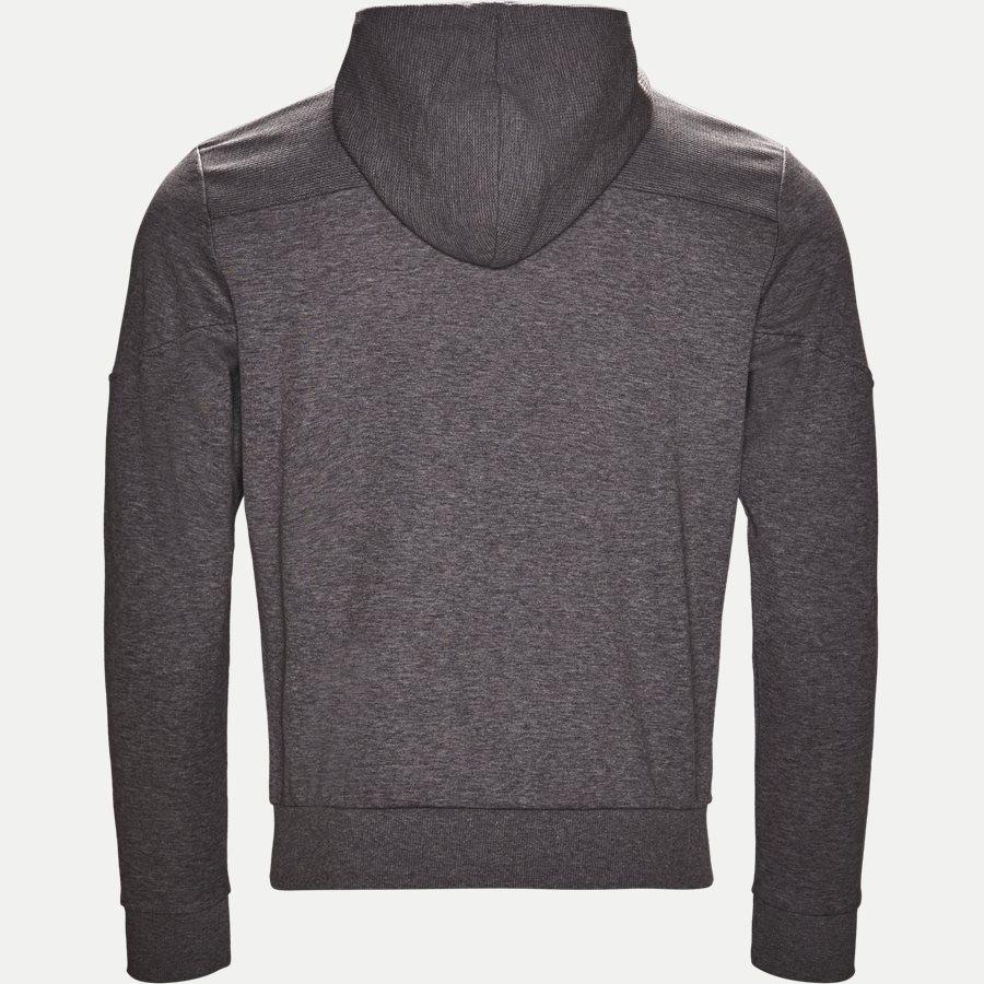 50387166 SAGGY - Saggy Hoodie Zip Sweatshirt - Sweatshirts - Regular - GRÅ - 2