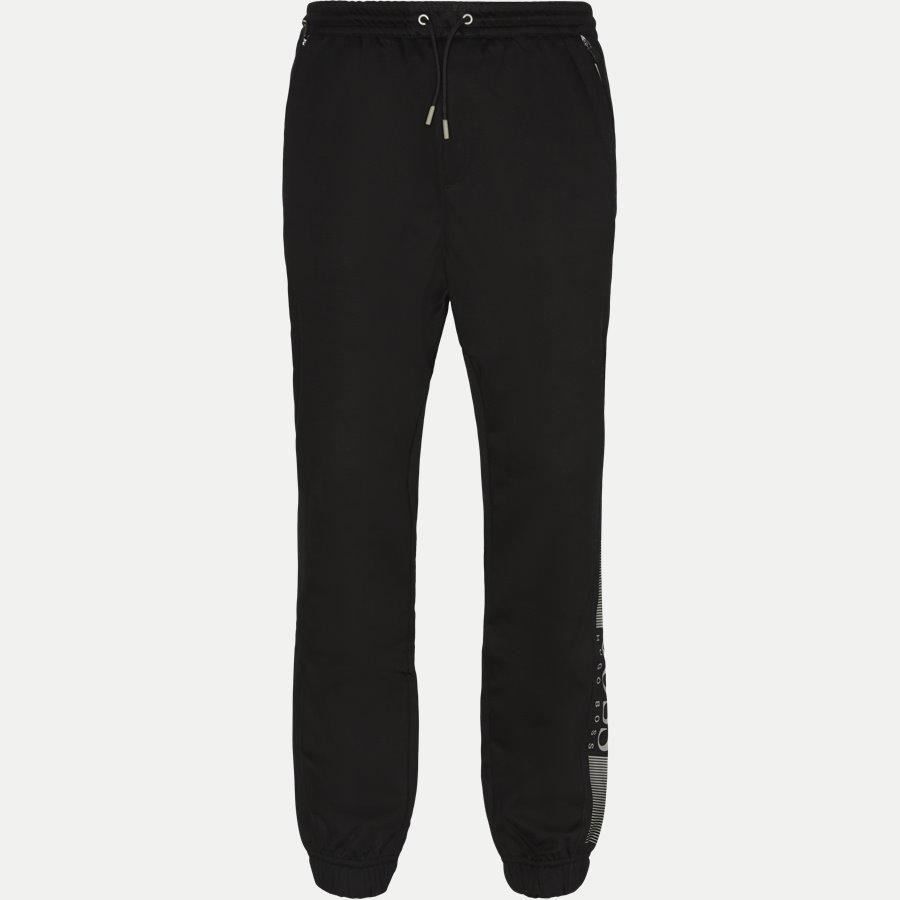 50389049 HL-TECH - HL-Tech Sweatpants - Bukser - Slim - SORT - 1
