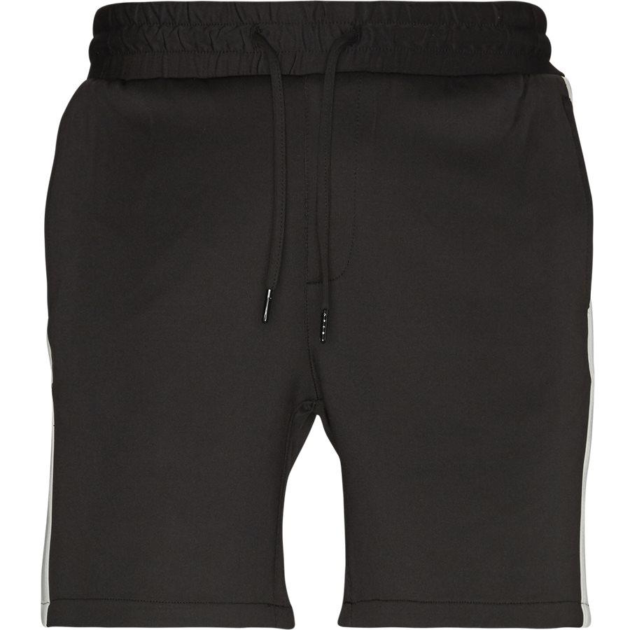 ALFRED TRACK SHORTS JJ504 - Alfred Track Shorts - Shorts - Regular - SORT/HVID - 2