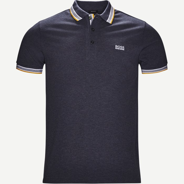 Paddy Polo T-shirt - T-shirts - Regular - Denim