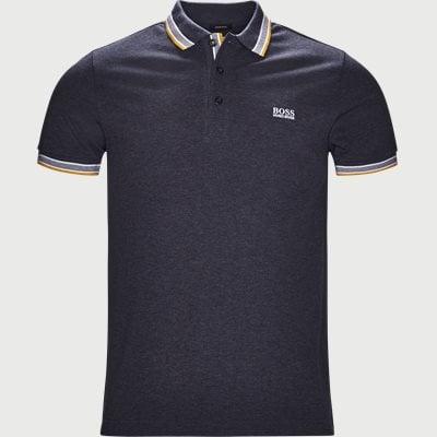 Paddy Polo T-shirt Regular | Paddy Polo T-shirt | Denim