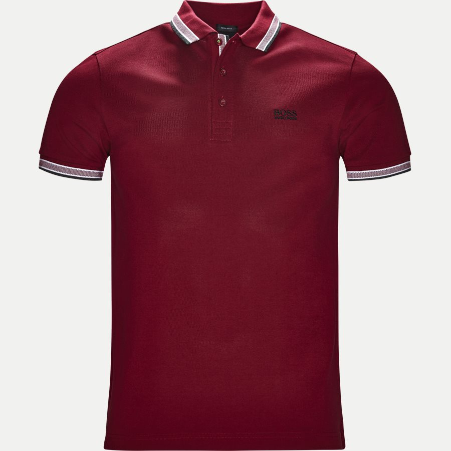 50302557 PADDY - Paddy Polo T-shirt - T-shirts - Regular - RØD - 1