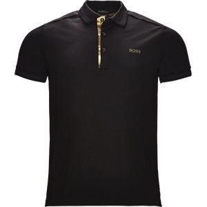 Paddy Gold Polo Slim | Paddy Gold Polo | Sort