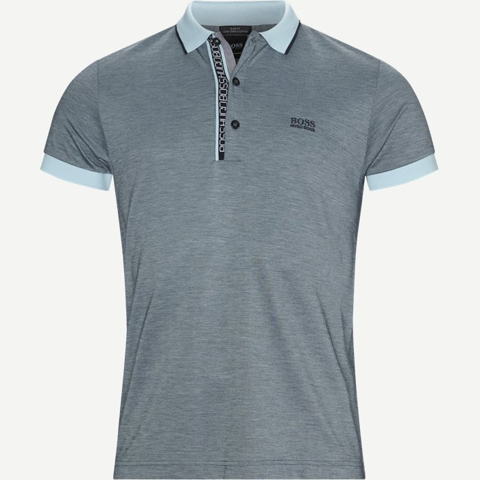 Paule4 Polo - T-shirts - Slim - Turkis