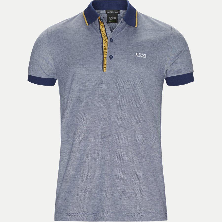 50374389 PAULE4 - Paule4 Polo - T-shirts - Slim - BLÅ - 1