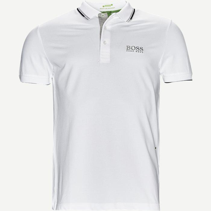 Paddy Pro Polo T-shirt - T-shirts - Regular - Hvid
