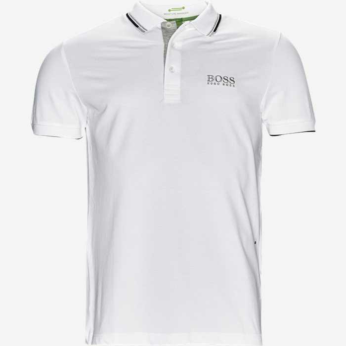 Paddy Pro Polo T-shirt - T-shirts - Regular - Hvid