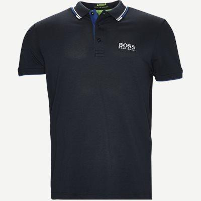 Paddy Pro Polo T-shirt Regular | Paddy Pro Polo T-shirt | Blå