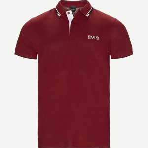 Paddy Pro Polo T-shirt Regular | Paddy Pro Polo T-shirt | Rød