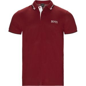Paddy Pro Polo T-shirt Regular | Paddy Pro Polo T-shirt | Rød