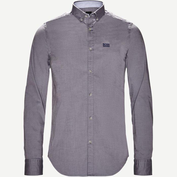 Biado_R Skjorte - Skjorter - Regular - Grå