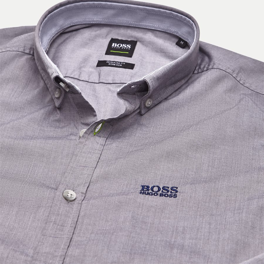 50388204 BIADO_R - Biado_R Skjorte - Skjorter - Regular - GRÅ - 3