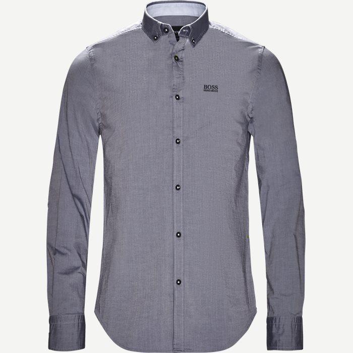Biado_R Skjorte - Skjorter - Regular - Blå