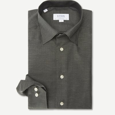 Fine Twill Skjorte Fine Twill Skjorte | Grøn