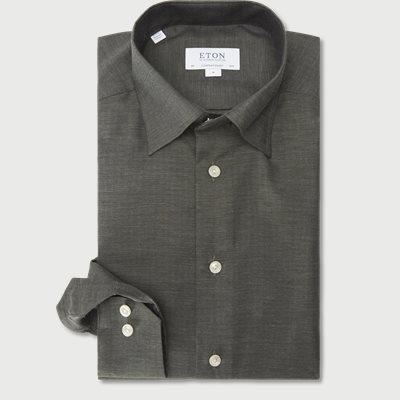 3991 Fine Twill Skjorte 3991 Fine Twill Skjorte | Grøn