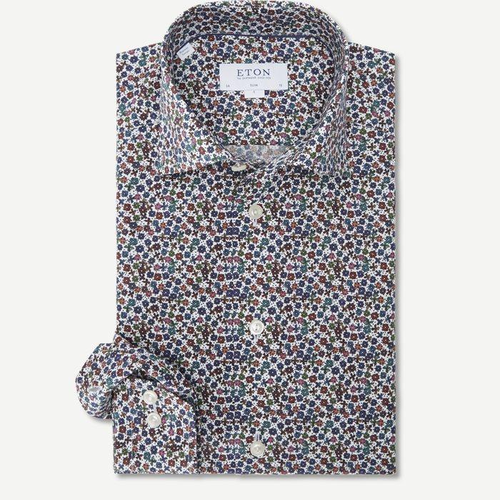 2746 Poplin Skjorte - Skjorter - Hvid