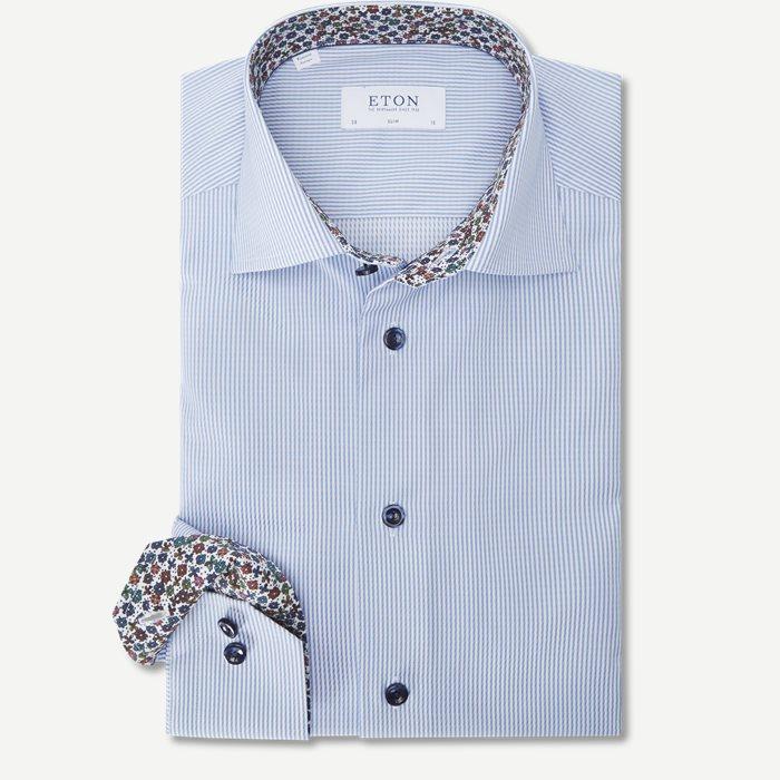 3399 Signature Twill Skjorte - Skjorter - Blå