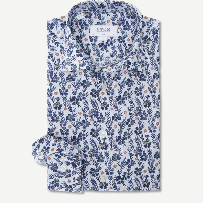 Signature Twill Skjorte - Skjorter - Hvid