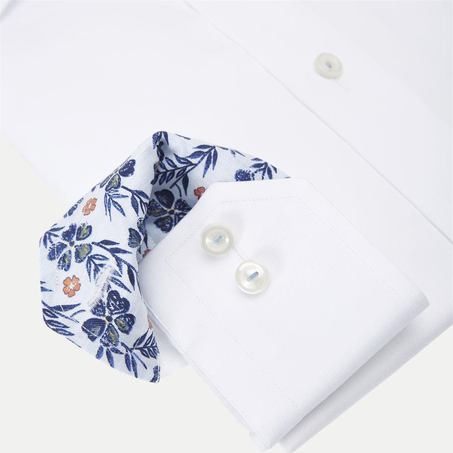 3000 00525/00374 - Signature Twill Skjorte - Skjorter - HVID - 4