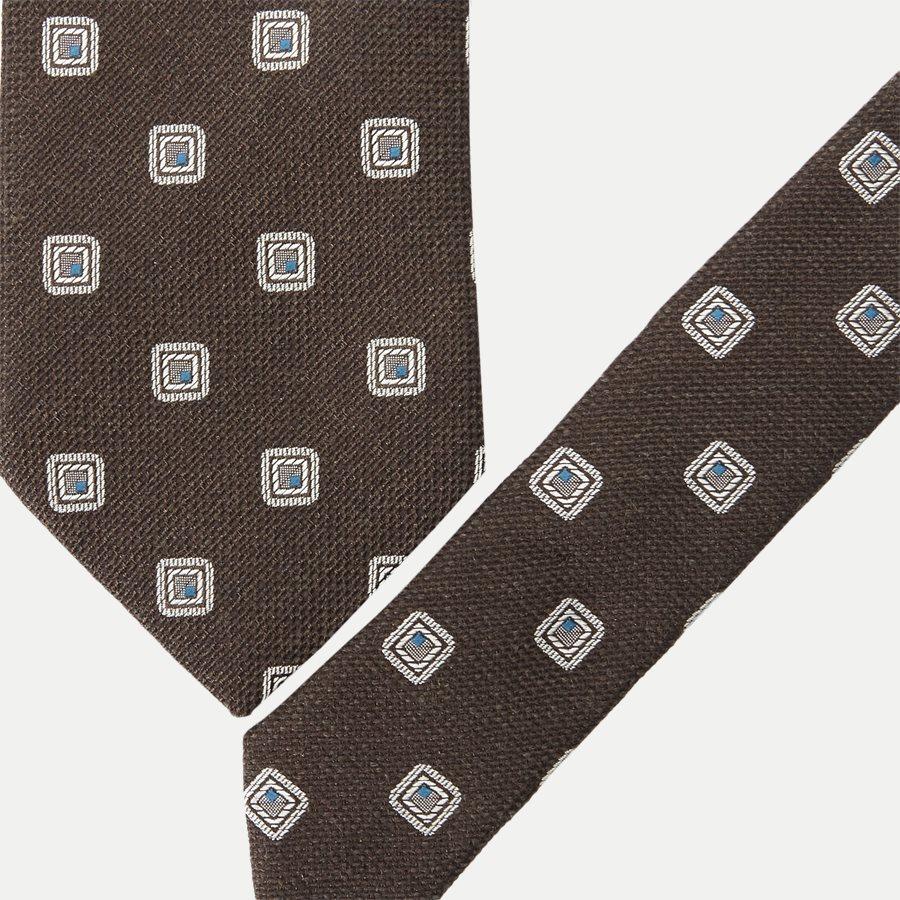 A000 308163580 - Krawatten - BRUN - 2