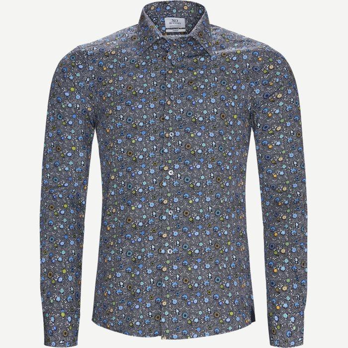 8068 Jake/Gordon Skjorte - Skjorter - Blå