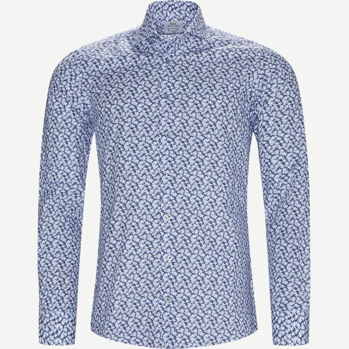 8061 Jake/Gordon Skjorte - Skjorter - Blå
