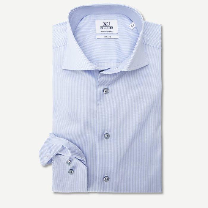 8084 Jake/Gordon Skjorte - Skjorter - Blå