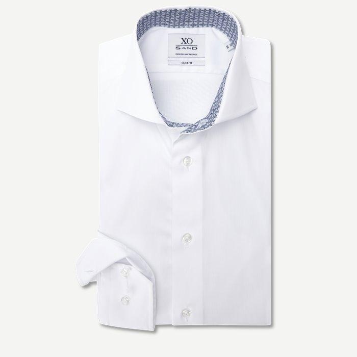 8068 Jake/Gordon Skjorte - Skjorter - Hvid