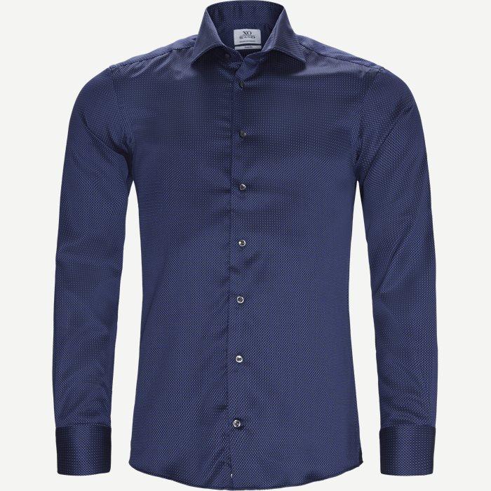 8053 Jake/Gordon Skjorte - Skjorter - Blå
