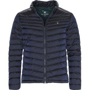 Down Jacket Slim | Down Jacket | Blå