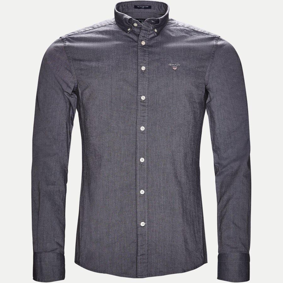3046002 OXFORD SHIRT - The Oxford Shirt - Skjorter - Slim - SORT - 1