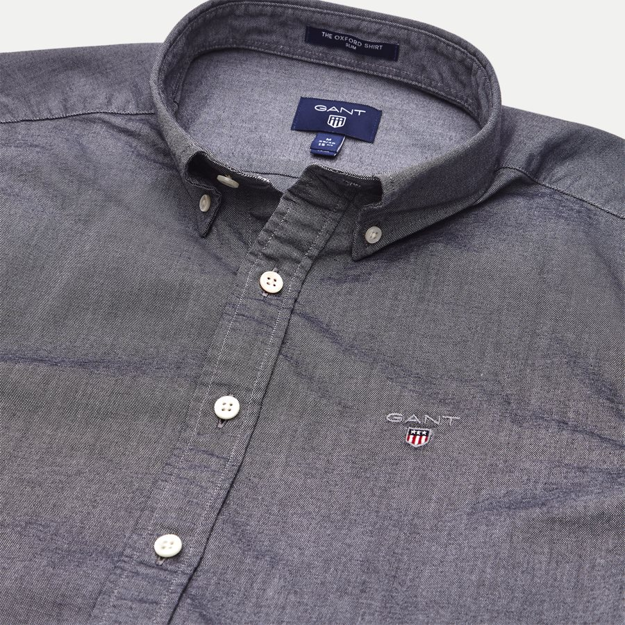 3046002 OXFORD SHIRT - The Oxford Shirt - Skjorter - Slim - SORT - 3