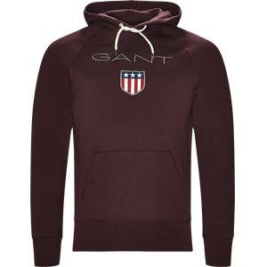 Shield Hoodie Sweatshirt Regular | Shield Hoodie Sweatshirt | Bordeaux
