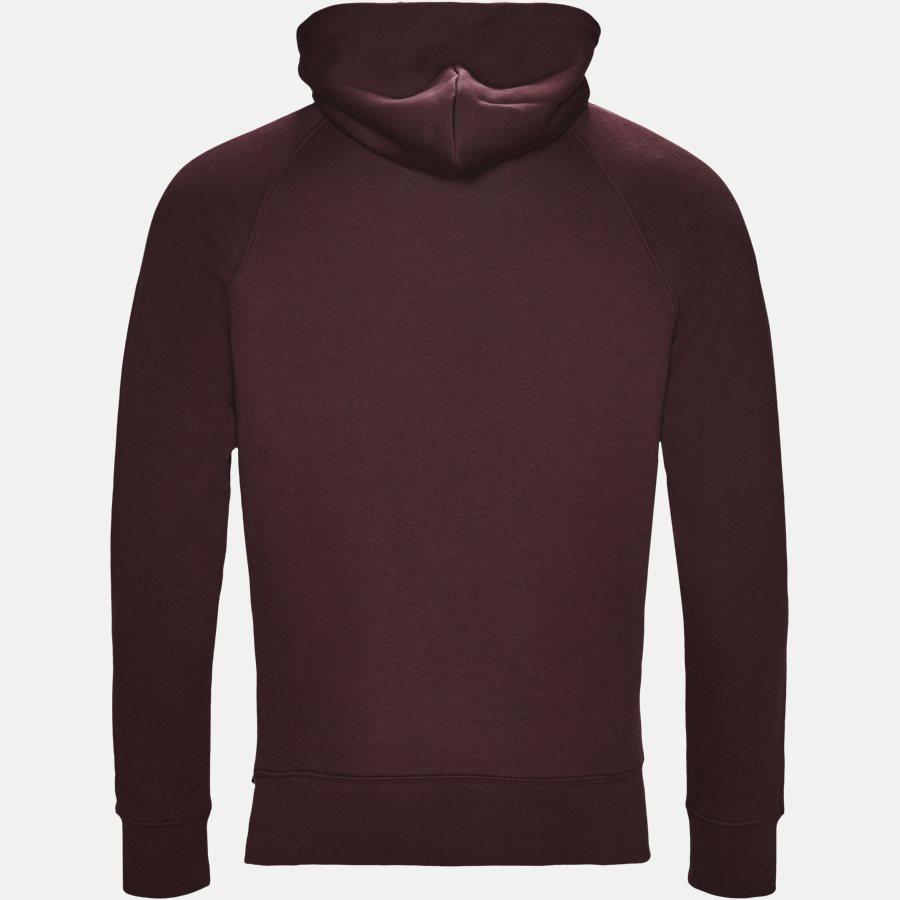 276310 GANT SHIELD - Shield Hoodie Sweatshirt - Sweatshirts - Regular - BORDEAUX - 2