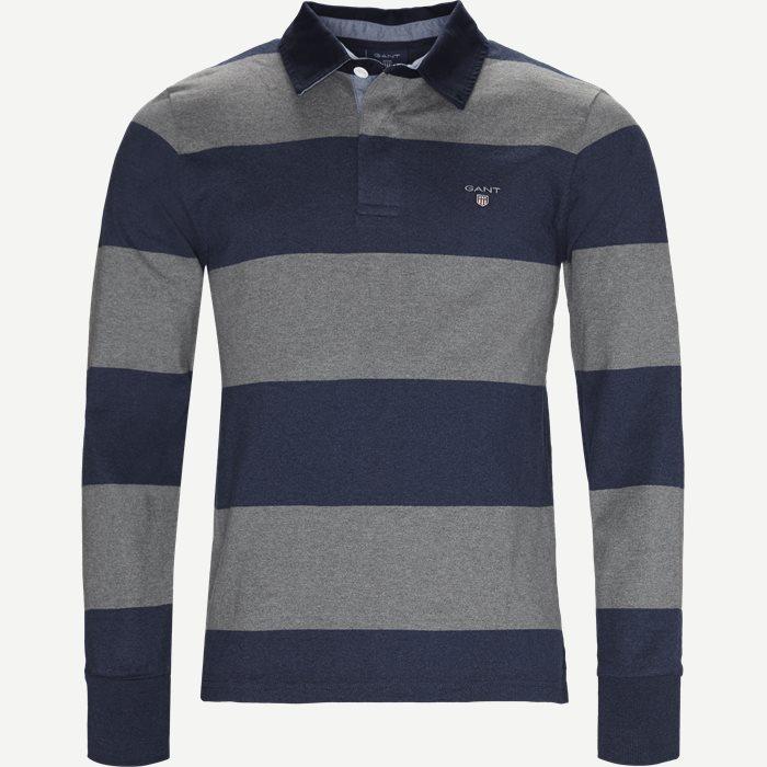 Barstripe Rugger - Sweatshirts - Regular - Grå