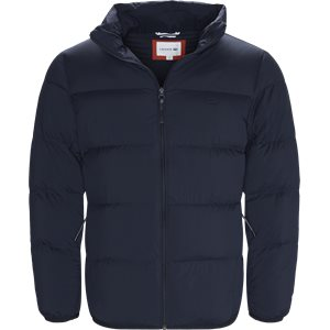 Motion Cancealed Hood Quiltet Jacket Regular | Motion Cancealed Hood Quiltet Jacket | Blå