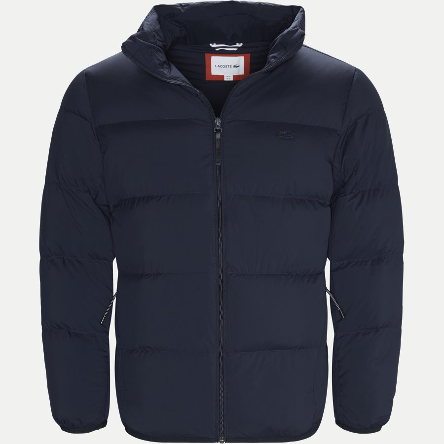 BH9380 - Motion Cancealed Hood Quiltet Jacket - Jakker - Regular - NAVY - 1