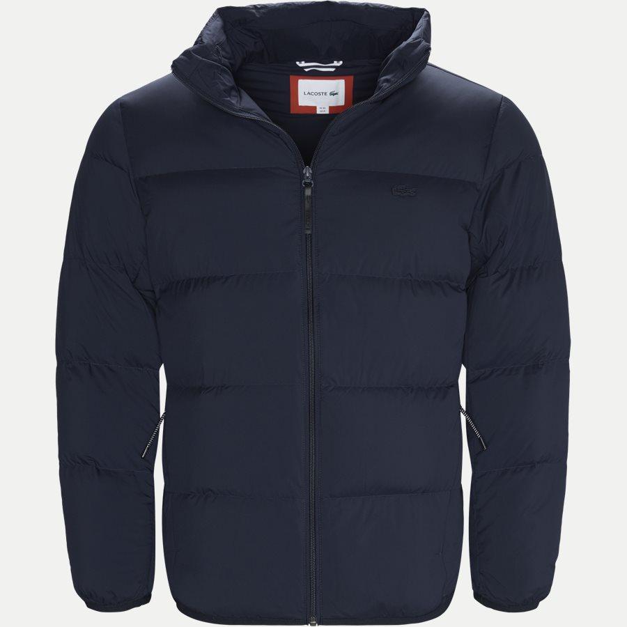 BH9380 - Motion Cancealed Hood Quiltet Jacket - Jakker - Regular - NAVY - 1