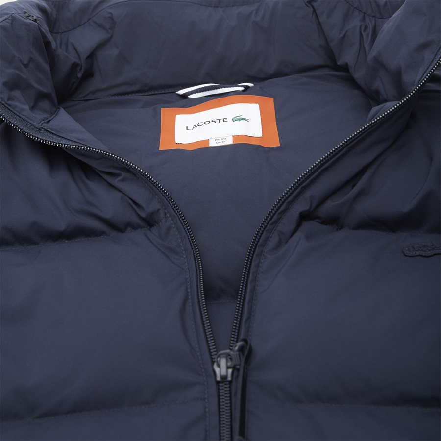 BH9380 - Motion Cancealed Hood Quiltet Jacket - Jakker - Regular - NAVY - 5