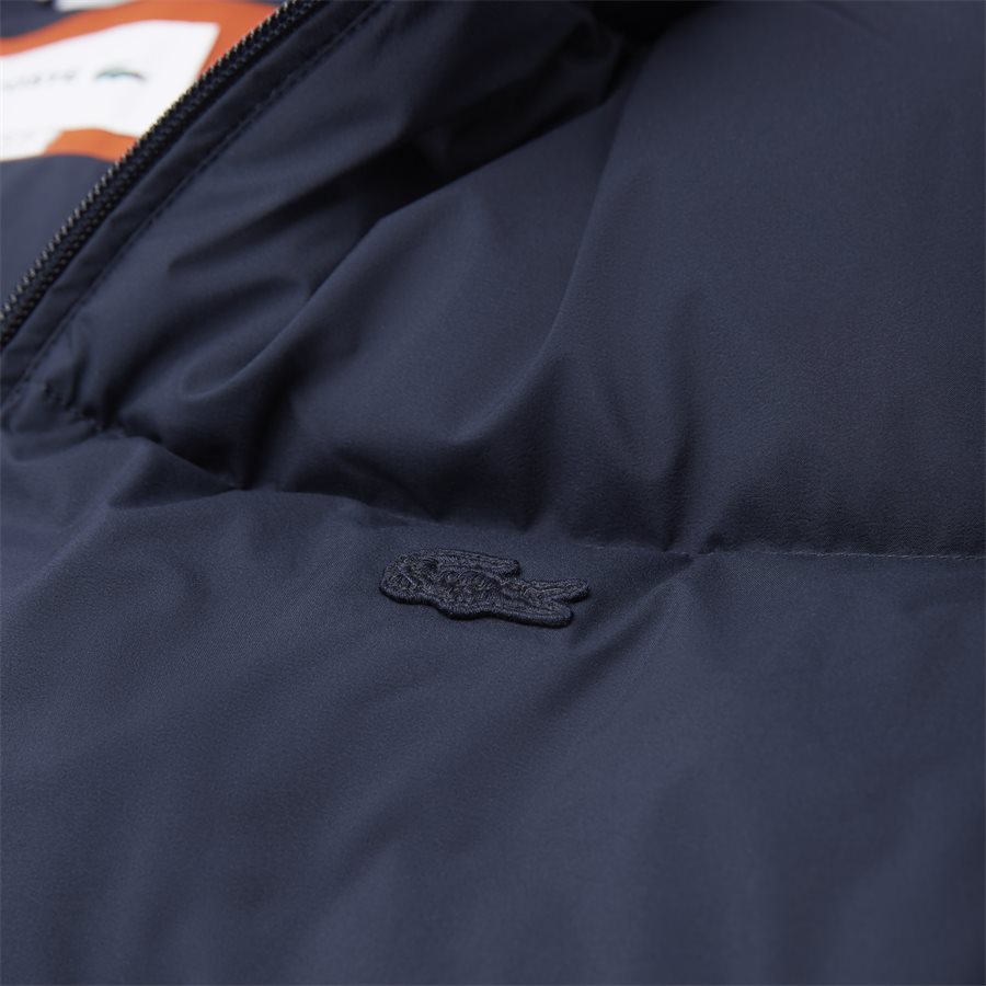 BH9380 - Motion Cancealed Hood Quiltet Jacket - Jakker - Regular - NAVY - 6