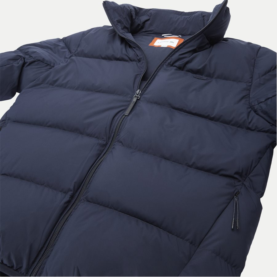 BH9380 - Motion Cancealed Hood Quiltet Jacket - Jakker - Regular - NAVY - 8