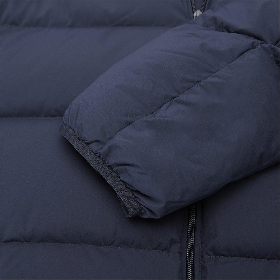BH9380 - Motion Cancealed Hood Quiltet Jacket - Jakker - Regular - NAVY - 9