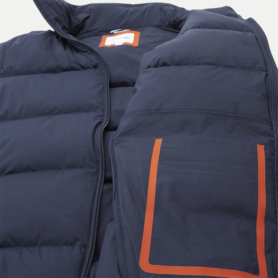 BH9380 - Motion Cancealed Hood Quiltet Jacket - Jakker - Regular - NAVY - 10