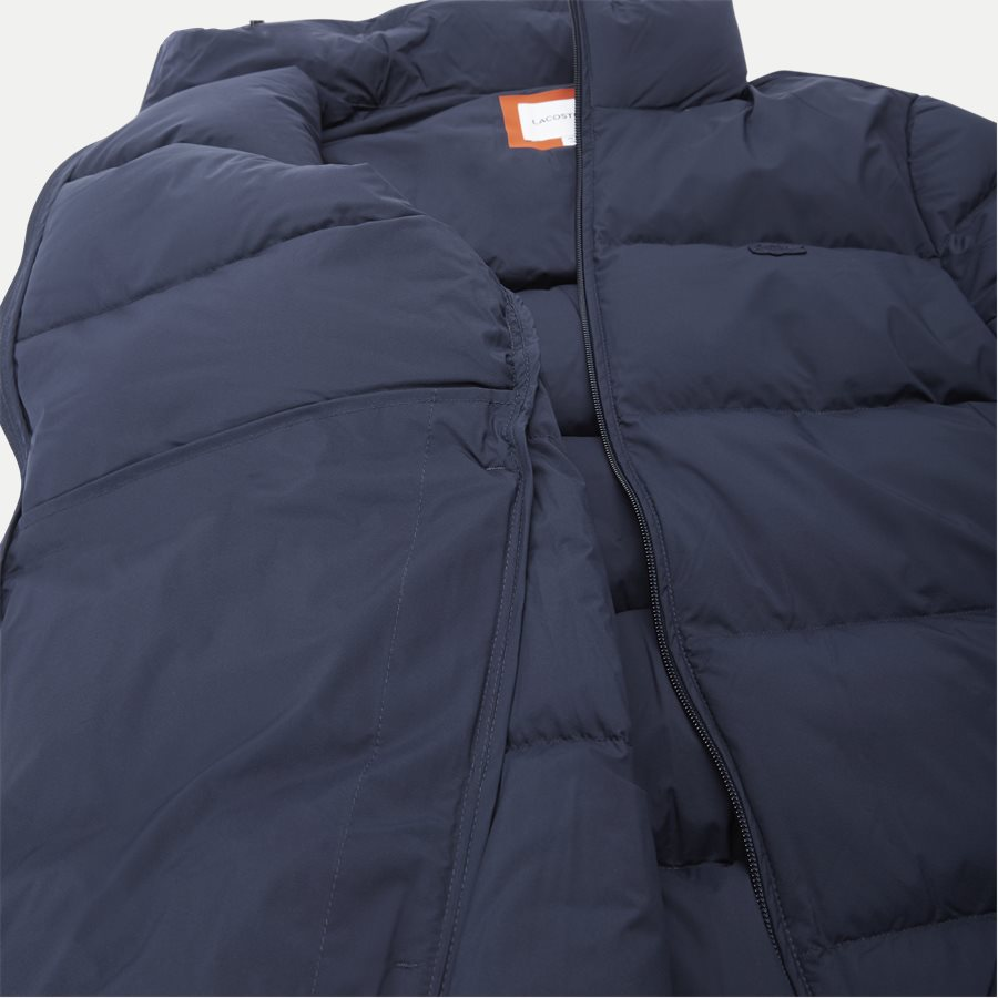 BH9380 - Motion Cancealed Hood Quiltet Jacket - Jakker - Regular - NAVY - 11