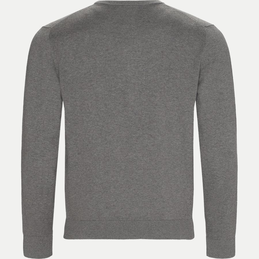 AH7004.. - Crew Neck Strik - Strik - Regular - GRÅ - 2