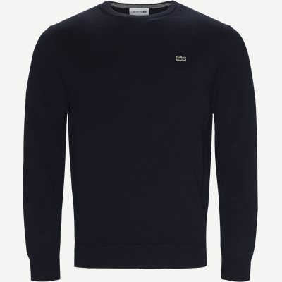 Crew Neck Strik Regular | Crew Neck Strik | Blå